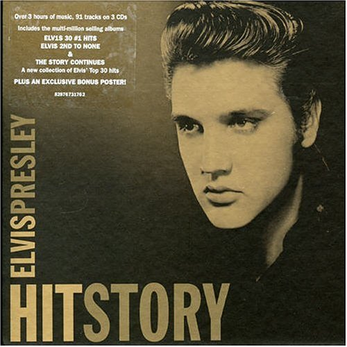 Elvis Presley Hitstory Limited Import Aus 3 CD Set