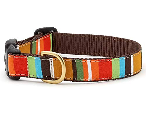 up-country-dog-collar-brown-stripe