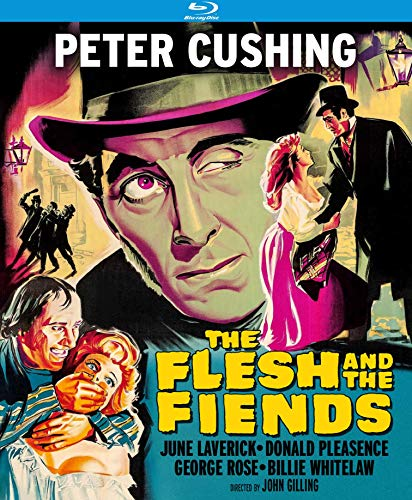 The Flesh & The Fiends Cushing Pleasence Blu Ray Nr