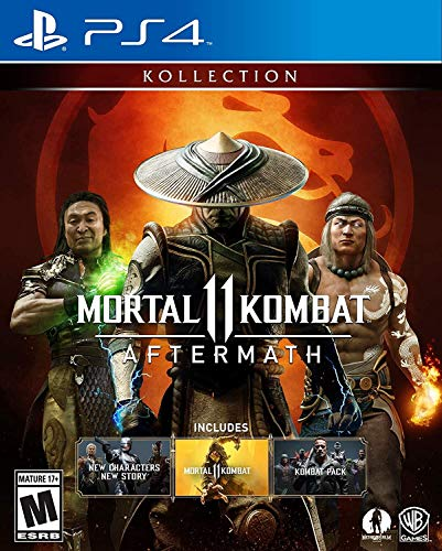 Ps4 Mortal Kombat 11 Aftermath Kollection (2 Discs)