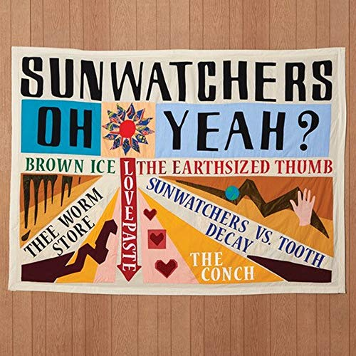 Sunwatchers Oh Yeah? (color Vinyl) Amped Exclusive