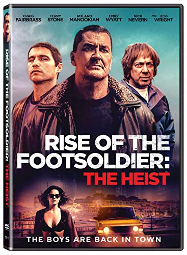 Rise Of The Footsoldier The Heist Rise Of The Footsoldier The Heist DVD Nr