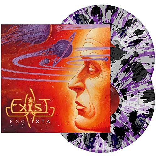 Exist Egoiista (transparent Grey W Black & Purple Splatter Vinyl) 2 Lp