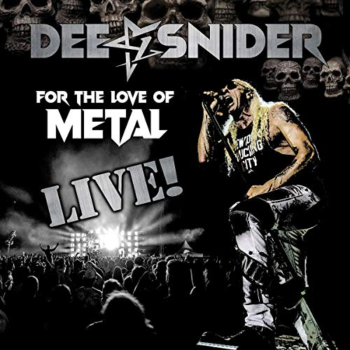 Dee Snider For The Love Of Metal (live) Bonus Blu Ray & DVD