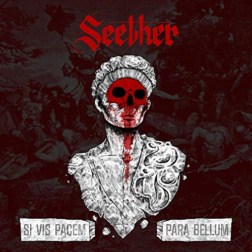 Seether Si Vis Pacem Para Bellum (opaque Red W Black Splatter Vinyl) W Etched D Side 2lp