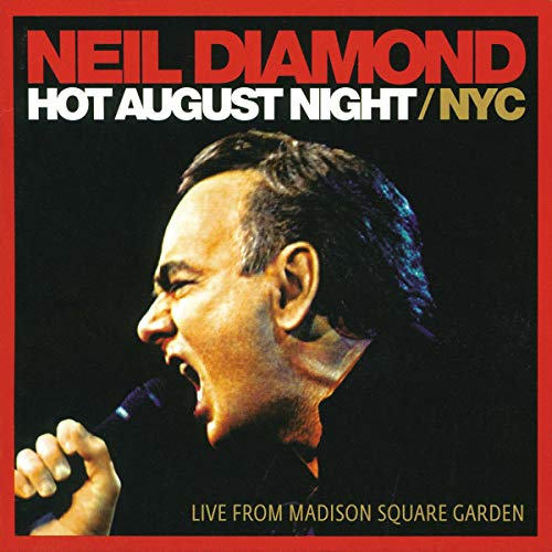 Neil Diamond Hot August Night Nyc Live From Madison Square Garden 2 Lp