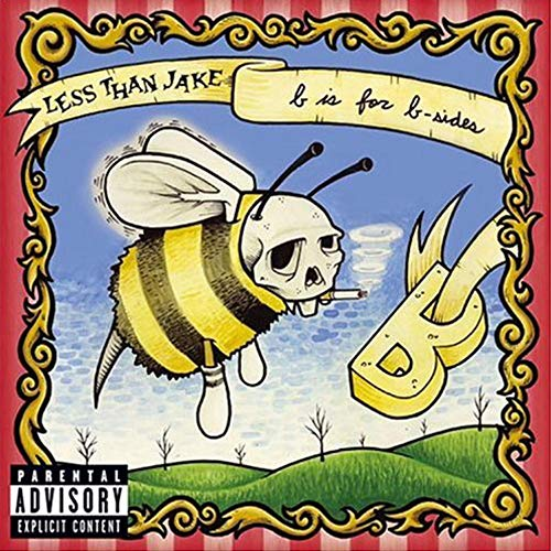 Less Than Jake B Is For B Sides Half And Half Clear Opaque Yellow Vinyl