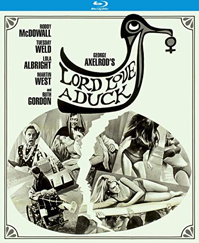 Lord Love A Duck Mcdowall Weld Blu Ray Nr