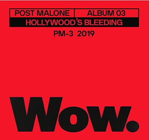 """Post Malone/Wow - 3"""" Single"""