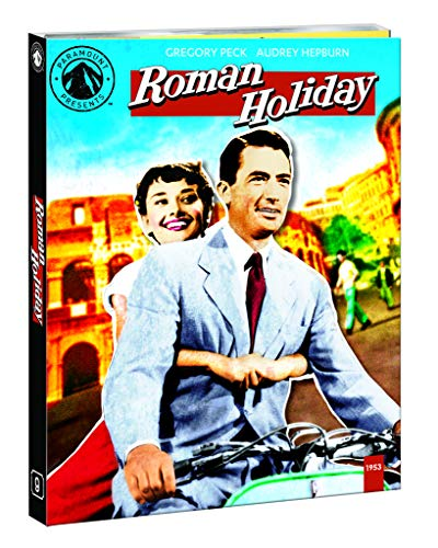 Roman Holiday (1953) Peck Hepburn Blu Ray Nr