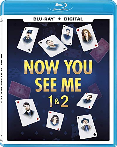 Now You See Me Double Feature Blu Ray Nr Bull Moose