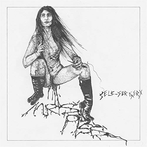 Mrs. Piss Self Surgery (standard Version) Etching On Side B + W Download Card