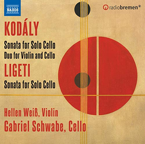Kodaly Schwabe Weiss Sonata For Cello Solo