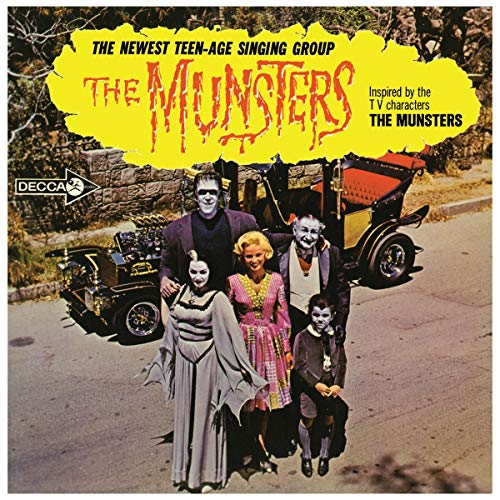 The Munsters The Munsters Limited Orange With Black Splatter Vinyl Edition