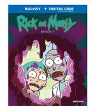 Rick & Morty Season 4 Blu Ray Nr