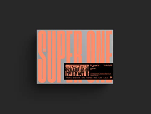 Superm Superm The 1st Album 'super One' [super Ver.]