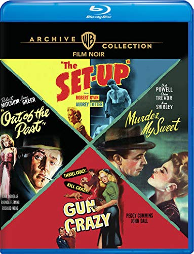 Film Noir 4 Film Collection Blu Ray Mod This Item Is Made On Demand Could Take 2 3 Weeks For Delivery