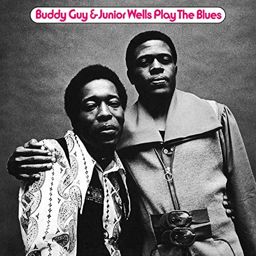 Buddy Guy & Junior Wells Play The Blues Featuring Eric Clapton 180g Translucent Blue Vinyl