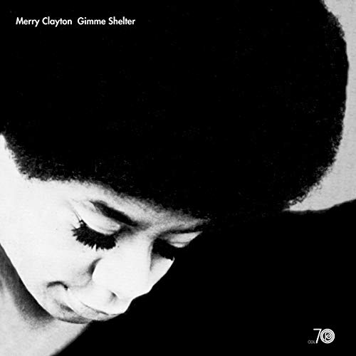 "Merry Clayton Gimme Shelter Black & White ""gray Eye"" Vinyl Ltd. 700"