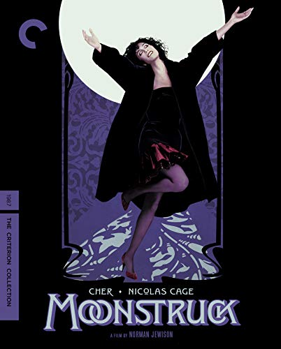 Moonstruck (criterion Collection) Cher Cage Blu Ray Criterion