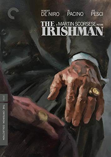 The Irishman De Niro Pesci Pacino DVD Criterion