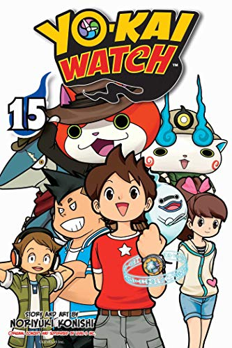 noriyuki-konishi-yo-kai-watch-vol-15-volume-15
