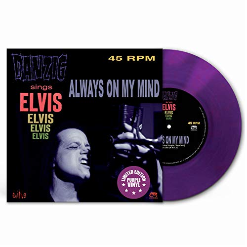 Danzig Always On My Mind (purple Viny Amped Exclusive