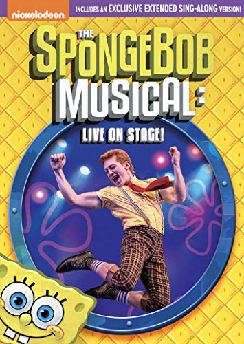 Spongebob Squarepants The Spongebob Musical Live On Stage! DVD Nr