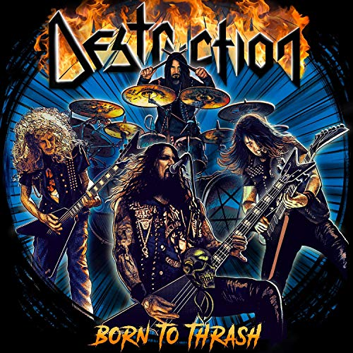 Destruction Born To Thrash (live In Germany) CD DVD