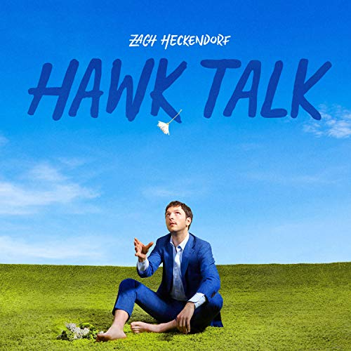 Zach Heckendorf Hawk Talk Opaque Blue Vinyl