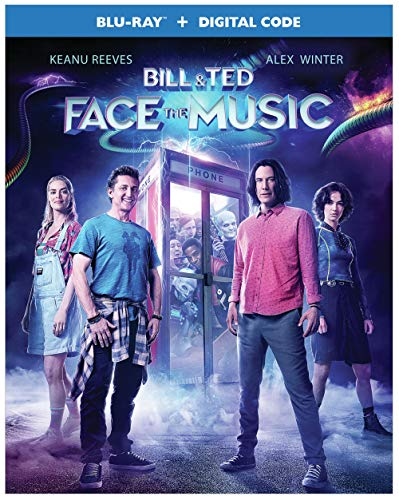 Bill & Ted Face The Music Reeves Winter Blu Ray Dc Pg13