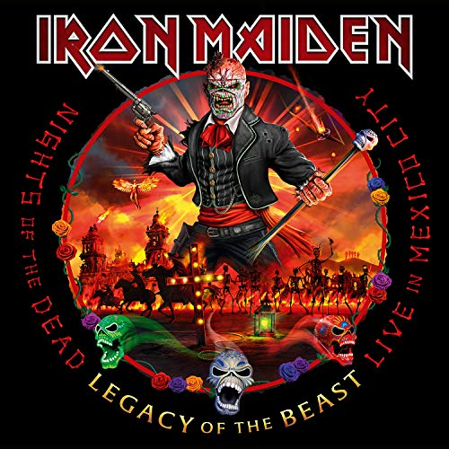 Iron Maiden Nights Of The Dead Legacy Of The Beast Live In Mexico City Deluxe Version