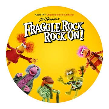 fraggle-rock-rock-on-apple-tv-original-series-soundtrack-picture-disc-rsd-bf-2020