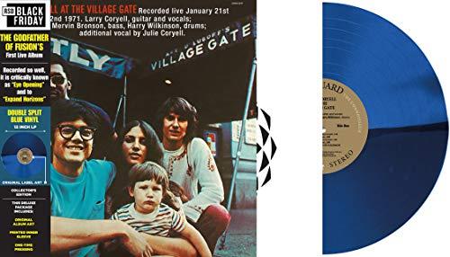 larry-coryell-at-the-village-gate-light-blue-translucent-vinyl-rsd-bf-2020-ltd-1000