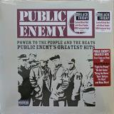 Public Enemy Power To The People & The Beats Public Enemy's Greatest Hits 2 Lp Blood Red W Black Smoke Vinyl Rsd Bf 2020