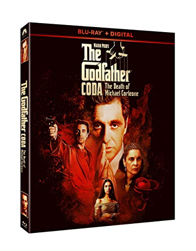 The Godfather Coda The Death Of Michael Corleone Pacino Garcia Blu Ray Dc R