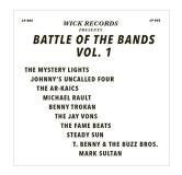 Wick Records Presents Battle Of The Bands Vol. 1 Black Swirl Vinyl Rsd Exclusive Ltd. 800