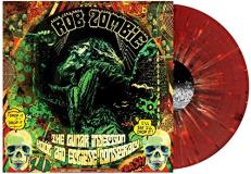 Rob Zombie The Lunar Injection Kool Aid Eclipse Conspiracy (red W Black & White Splatter)