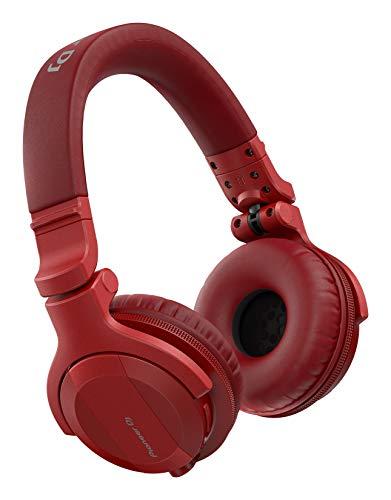 Pioneer Dj/HDJ Cue1 Bluetooth Headphones (Red)@Red