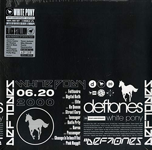 Deftones White Pony (20th Anniversary Deluxe Edition Indie Exclusive)
