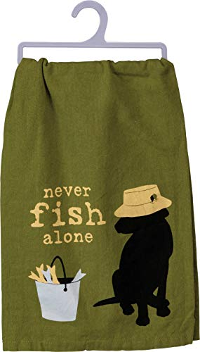 primitives-by-kathy-dish-towel-never-fish-alone
