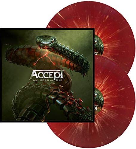 Accept Too Mean To Die (red W White Splatter Vinyl) 2 Lp Amped Exclusive