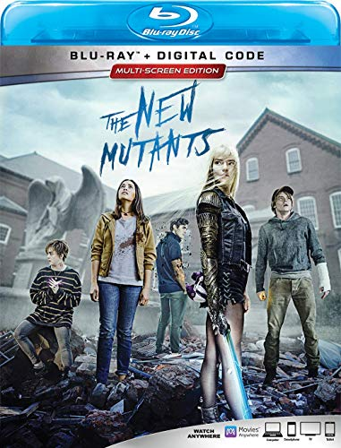 The New Mutants Williams Taylor Joy Heaton Blu Ray Dc Pg13