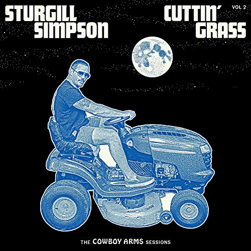sturgill-simpson-cuttin-grass-vol-2-cowboy-arms-sessions-indie-exclusive-opaque-blue-w-white-swirl-vinyl
