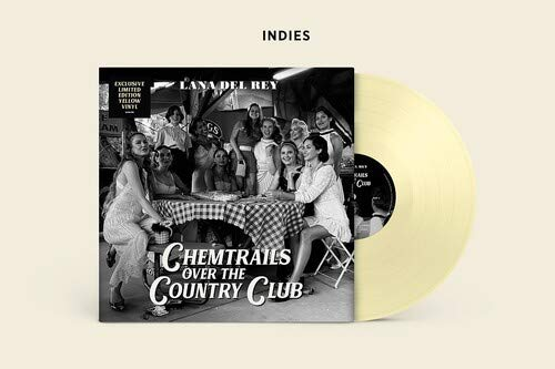 Lana Del Rey Chemtrails Over The Country Club [yellow Vinyl]