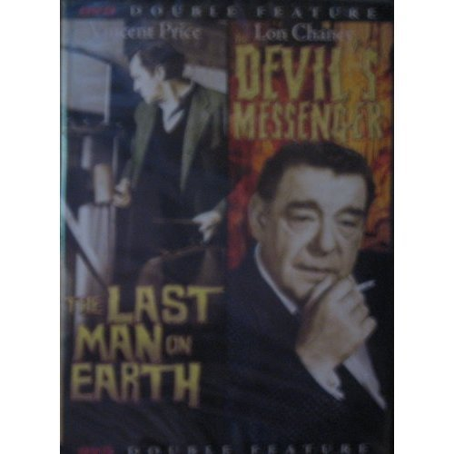 Jr. Vincent Price Lon Chaney The Last Man On Earth & The Devil's Messenger (dou