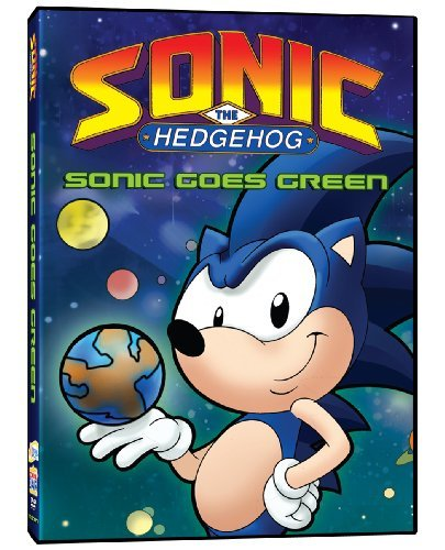 Sonic Goes Green Sonic The Hedgehog Nr