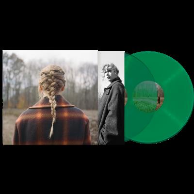 taylor-swift-evermore-green-vinyl-2-lp