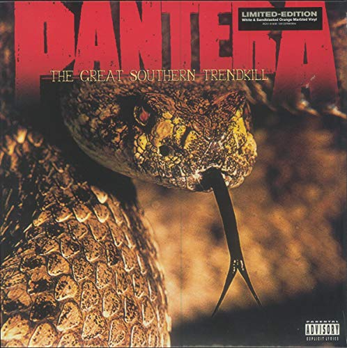 Pantera The Great Southern Trendkill (marbled Orange Vinyl) Brick & Mortar Exclusive