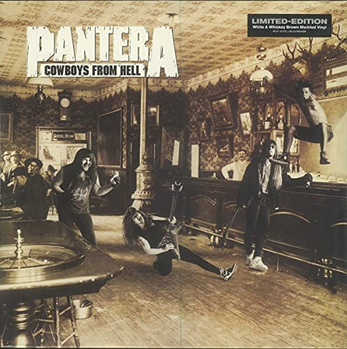 Pantera Cowboys From Hell (marbled Brown Vinyl)